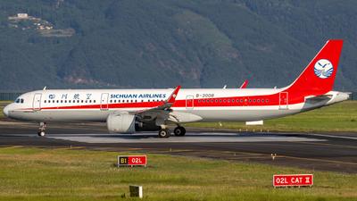 B-30D8 - Airbus A321-271N - Sichuan Airlines