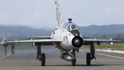 166 - Mikoyan-Gurevich Mig-21UMD Mongol B - Croatia - Air Force