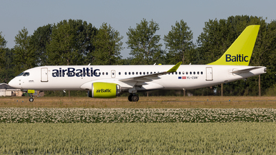 A picture of YLCSM - Airbus A220300 - Air Baltic - © Sebastian Sowa