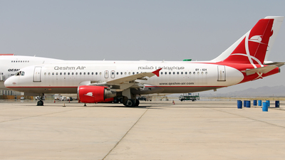 EY-631 - Airbus A320-214 - Qeshm Air