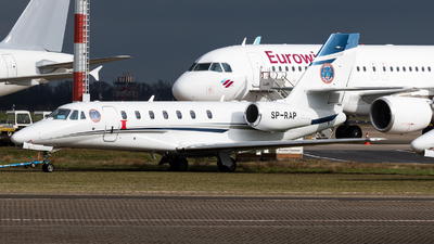 SP-RAP - Cessna 680 Citation Sovereign - Boutsen Aviation