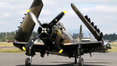 NX965AD - Douglas AD-4N(A) Skyraider - Private