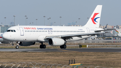 A picture of B6600 - Airbus A320232 - China Eastern Airlines - © ShirokaneRinko