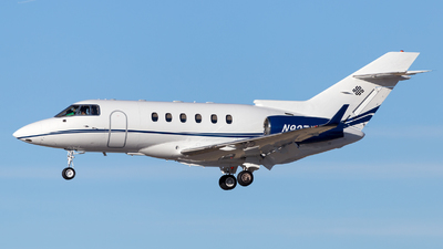 N927AR - Hawker Beechcraft 800XP - Private