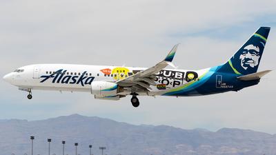 N587AS - Boeing 737-890 - Alaska Airlines