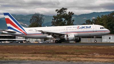 N485GX - Airbus A320-211 - LACSA