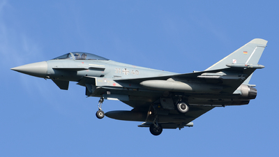 31-40 - Eurofighter Typhoon EF2000 - Germany - Air Force