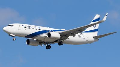 A picture of 4XEKJ - Boeing 73785P - El Al - © Eyal Zarrad