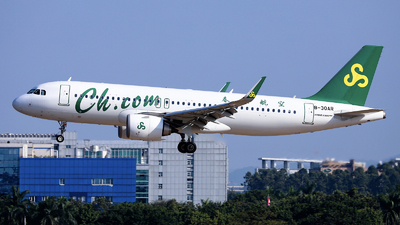 A picture of B30AR - Airbus A320251N - Spring Airlines - © nibrage