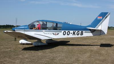 OO-KGB - Robin DR400/120 Dauphin 2+2 - Kortrijk Flying Club