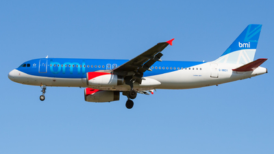 G-MIDY - Airbus A320-232 - bmi British Midland International