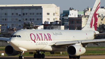 A7-AFY - Airbus A330-243F - Qatar Airways Cargo