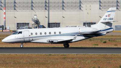 OE-HGS - Gulfstream G200 - MJet