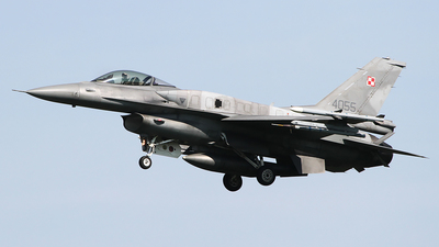 4055 - Lockheed Martin F-16CM Fighting Falcon - Poland - Air Force