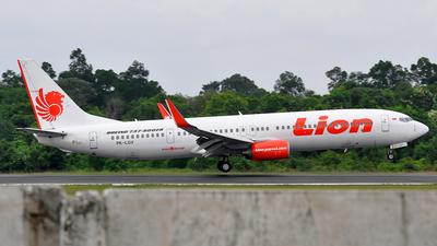 PK-LGV - Boeing 737-9GPER - Lion Air