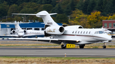 A picture of N919QS - Cessna 750 Citation X - NetJets - © C. v. Grinsven