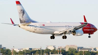 LN-DYV - Boeing 737-8JP - Norwegian