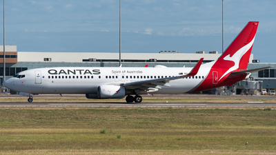A picture of VHVYF - Boeing 737838 - Qantas - © Mitch Coad