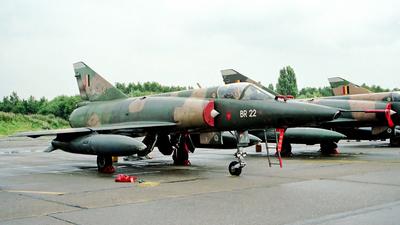 BR-22 - Dassault Mirage 5BR - Belgium - Air Force
