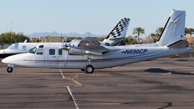 A picture of N690CP - Rockwell 690B - [11451] - © Anthony Cistolo