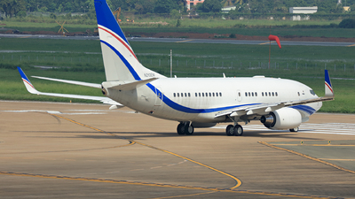A picture of N213EM - Boeing 73775(BBJ) - [36852] - © Hao Phan
