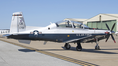 03-3701 - Raytheon T-6A Texan II - United States - US Air Force (USAF)