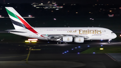 A picture of A6EOY - Airbus A380861 - Emirates - © Paul Buchröder