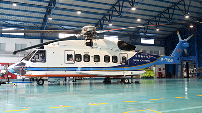 B-7350 - Sikorsky S-92A Helibus - China Southern Airlines