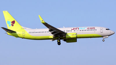 A picture of HL8224 - Boeing 7378Q8 - Jin Air - © REDSOX