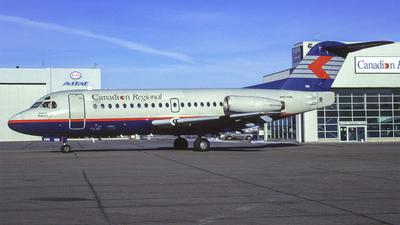 C-FCRI - Fokker F28-1000 Fellowship - Canadian Regional Airlines