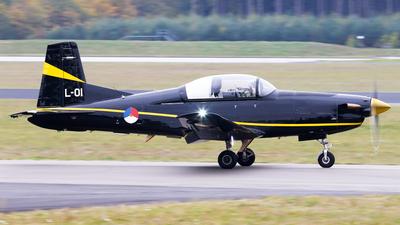L-01 - Pilatus PC-7 - Netherlands - Royal Air Force