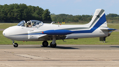 N57553 - Hunting Percival Jet Provost T.4 - Private