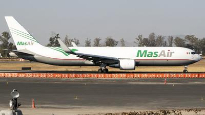 A picture of N420LA - Boeing 767316F(ER) - MasAir Cargo Airline - © Eduardo Manuel