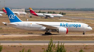 A picture of ECMPE - Boeing 7878 - Air Europa - © Juan Manuel Gibaja