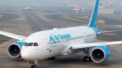 A picture of 5HTCJ - Boeing 7878 Dreamliner - Air Tanzania - © Shivam Gupta
