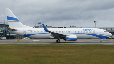 SP-ESD - Boeing 737-8AS - Enter Air