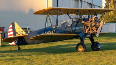 ZK-KJO - Boeing A75N1 Stearman - Private