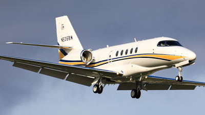 N536BW - Cessna 680 Citation Sovereign - Private