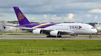 F-WWAO - Airbus A380-841 - Thai Airways International