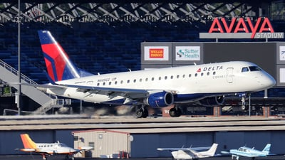 N605CZ - Embraer 170-200LR - Delta Connection (Compass Airlines)
