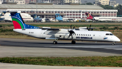 S2-AGW - Bombardier Dash 8-Q402 - US-Bangla Airlines