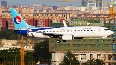 A picture of B5456 - Boeing 73785C - Hebei Airlines - © zzy020213