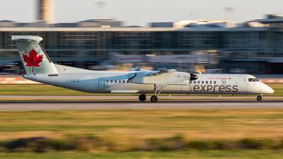 A picture of CGBJZ - De Havilland Canada Dash 8400 - Air Canada - © MShakespeare