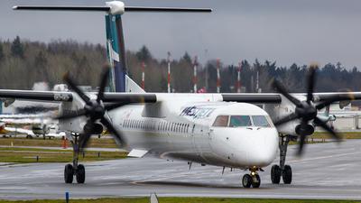 A picture of CFOWE - De Havilland Canada Dash 8400 - WestJet - © Keeper1