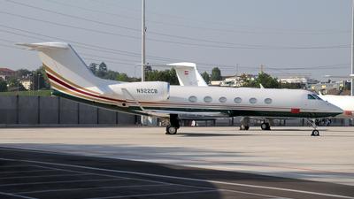 N922CB - Gulfstream G450 - Private