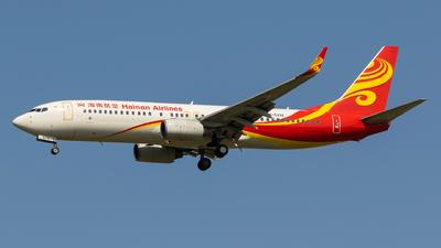 B-5338 - Boeing 737-84P - Hainan Airlines