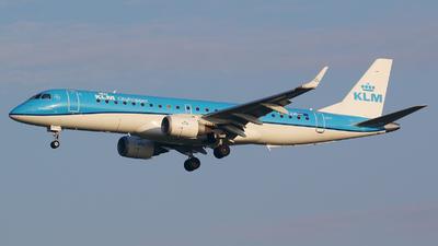 PH-EZM - Embraer 190-100STD - KLM Cityhopper