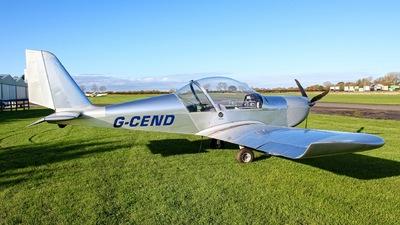 G-CEND - Evektor-Aerotechnik EV97 Eurostar - Private