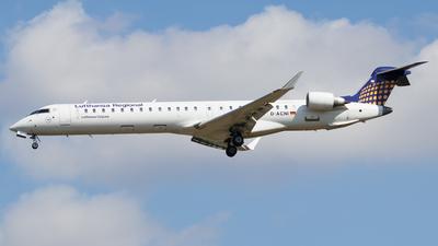 A picture of DACNI - Mitsubishi CRJ900LR - Lufthansa - © Csordás Dominik