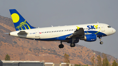 CC-AMP - Airbus A319-112 - Sky Airlines